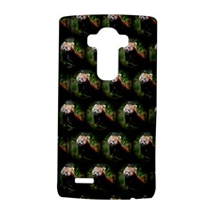 Cute Animal Drops   Red Panda Lg G4 Hardshell Case
