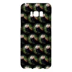 Cute Animal Drops   Red Panda Samsung Galaxy S8 Plus Hardshell Case