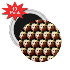 Cute Animal Drops   Wolf 2 25  Magnets (10 Pack)