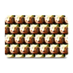 Cute Animal Drops   Wolf Plate Mats