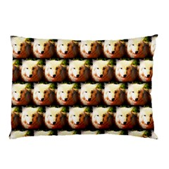 Cute Animal Drops   Wolf Pillow Case