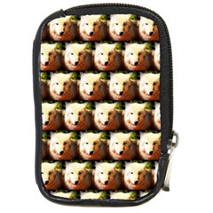 Cute Animal Drops   Wolf Compact Camera Cases