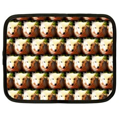 Cute Animal Drops   Wolf Netbook Case (xxl)