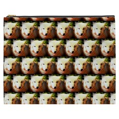 Cute Animal Drops   Wolf Cosmetic Bag (xxxl)