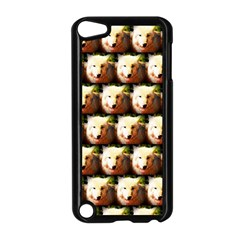 Cute Animal Drops   Wolf Apple Ipod Touch 5 Case (black)