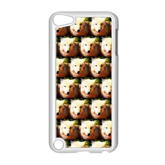 Cute Animal Drops   Wolf Apple Ipod Touch 5 Case (white)