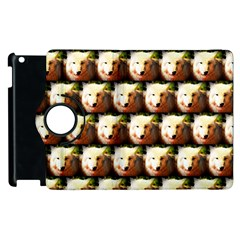 Cute Animal Drops   Wolf Apple Ipad 3/4 Flip 360 Case