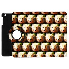 Cute Animal Drops   Wolf Apple Ipad Mini Flip 360 Case