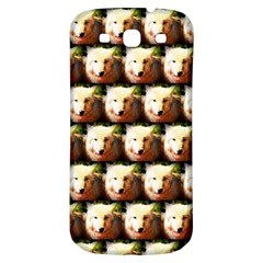 Cute Animal Drops   Wolf Samsung Galaxy S3 S Iii Classic Hardshell Back Case