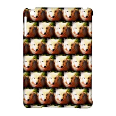 Cute Animal Drops   Wolf Apple Ipad Mini Hardshell Case (compatible With Smart Cover)