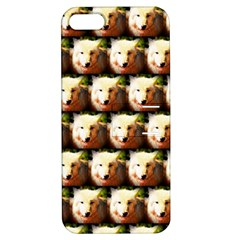 Cute Animal Drops   Wolf Apple Iphone 5 Hardshell Case With Stand