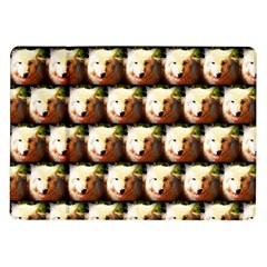 Cute Animal Drops   Wolf Samsung Galaxy Tab 10 1  P7500 Flip Case