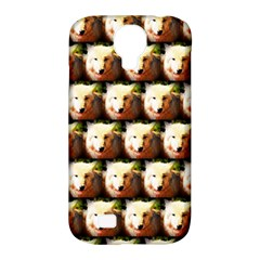 Cute Animal Drops   Wolf Samsung Galaxy S4 Classic Hardshell Case (pc+silicone)