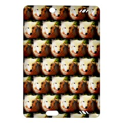 Cute Animal Drops   Wolf Amazon Kindle Fire Hd (2013) Hardshell Case