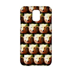 Cute Animal Drops   Wolf Samsung Galaxy S5 Hardshell Case