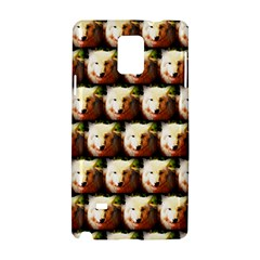 Cute Animal Drops   Wolf Samsung Galaxy Note 4 Hardshell Case