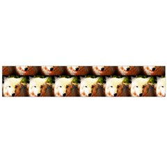 Cute Animal Drops   Wolf Flano Scarf (large)