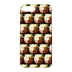 Cute Animal Drops   Wolf Apple Iphone 7 Plus Hardshell Case