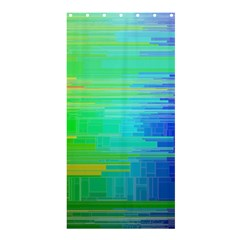 Colors Rainbow Pattern Shower Curtain 36  X 72  (stall)