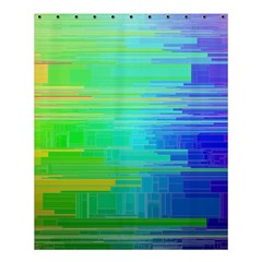 Colors Rainbow Pattern Shower Curtain 60  X 72  (medium)