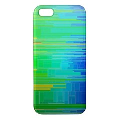 Colors Rainbow Pattern Apple Iphone 5 Premium Hardshell Case
