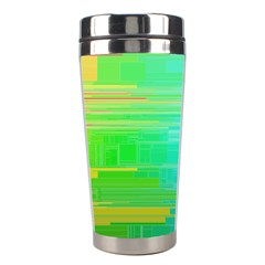 Colors Rainbow Pattern Stainless Steel Travel Tumblers