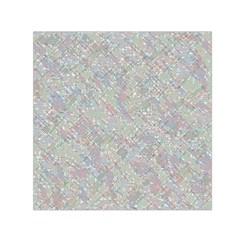 Solved Word Search Containing Animal Related Words Small Satin Scarf (square)