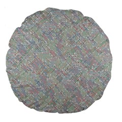 Solved Word Search Containing Animal Related Words Large 18  Premium Flano Round Cushions
