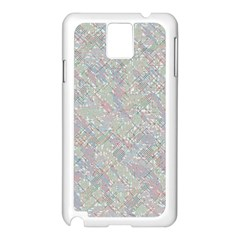 Solved Word Search Samsung Galaxy Note 3 N9005 Case (white)