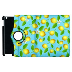 Lemon Pattern Apple Ipad 3/4 Flip 360 Case