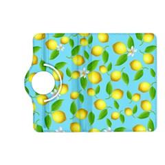 Lemon Pattern Kindle Fire Hd (2013) Flip 360 Case