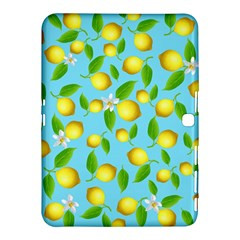 Lemon Pattern Samsung Galaxy Tab 4 (10 1 ) Hardshell Case
