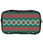 Ethnic Geometric Pattern Toiletries Bags 2-Side Front