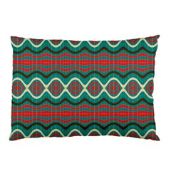 Ethnic Geometric Pattern Pillow Case (two Sides)