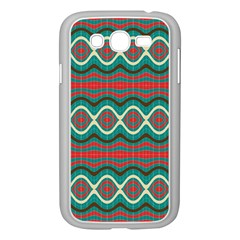 Ethnic Geometric Pattern Samsung Galaxy Grand Duos I9082 Case (white)