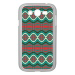 Ethnic Geometric Pattern Samsung Galaxy Grand DUOS I9082 Case (White) Front