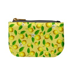 Lemon Pattern Mini Coin Purses