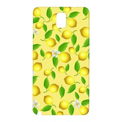 Lemon Pattern Samsung Galaxy Note 3 N9005 Hardshell Back Case