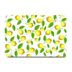 Lemon Pattern Plate Mats