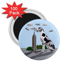Great Dane 2 25  Magnets (100 Pack)