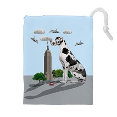 Great Dane Drawstring Pouches (extra Large)