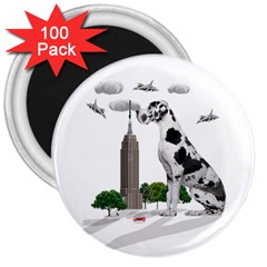 Great Dane 3  Magnets (100 Pack)
