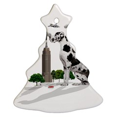 Great Dane Ornament (christmas Tree)
