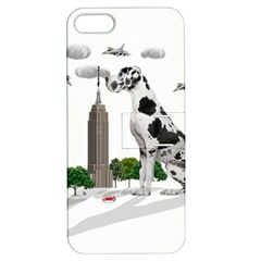 Great Dane Apple Iphone 5 Hardshell Case With Stand