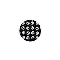 Panda Pattern 1  Mini Buttons