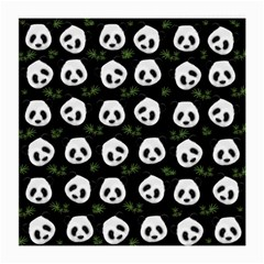 Panda Pattern Medium Glasses Cloth