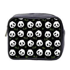 Panda Pattern Mini Toiletries Bag 2 Side