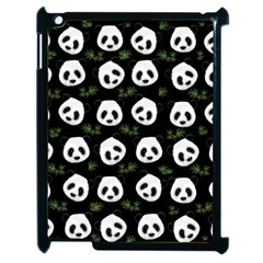 Panda Pattern Apple Ipad 2 Case (black)