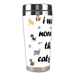 I Was Normal Three Cats Ago Stainless Steel Travel Tumblers