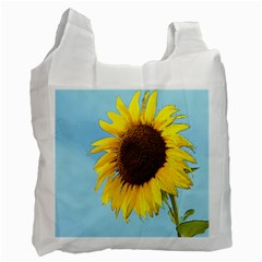 Sunflower Recycle Bag (two Side)